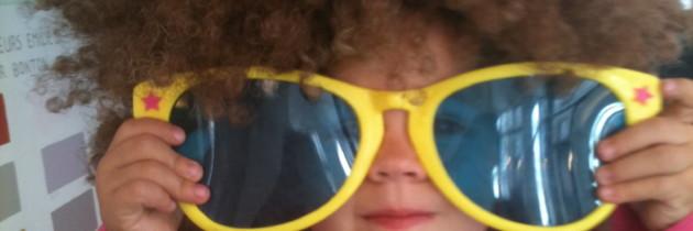 Et de 2 enfants à lunettes et les difficultés que l'on peut rencontrer.