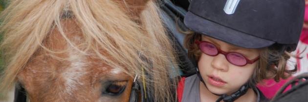 Qu'est-ce que l'on fait des enfants en Juillet ? Une semaine au poney club!