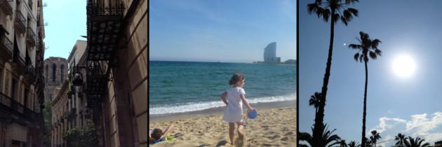 Barcelone avec enfant, c'est géant!